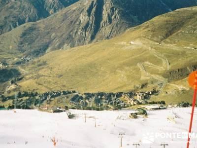 Esquí Baqueira; clubes de senderismo madrid; grupo montaña madrid